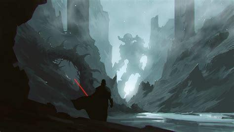 Artstation  Star Wars Revenge Of The Colossus , ömer Tunç