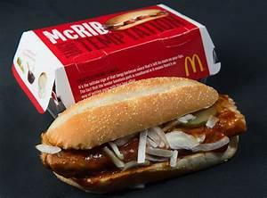 McRib is back: McDonalds is returning customer pork ...
