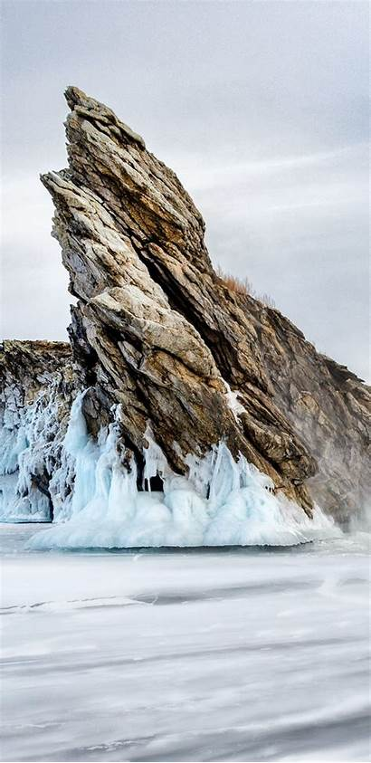 Stone Mountain Ice Winter