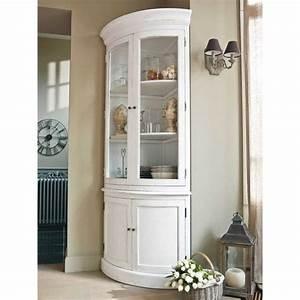 meuble d39angle en bois blanc l 68 cm bois blanc angles With ordinary meuble d angle maison du monde 0 meuble angle bois