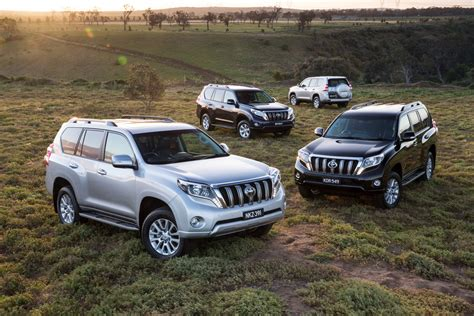toyota cars news  landcruiser prado updated