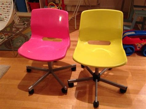 pink and yellow ikea desk chairs for sale in greystones
