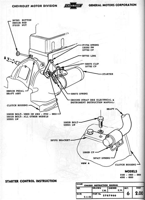 Chevy Truck Ignition Switch Wiring Diagram by 1954 Chevy Wiring Diagram Chevy Wiring Diagram Images