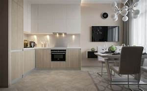 deco appartement petit espace idees design et modernes With deco petite cuisine appartement