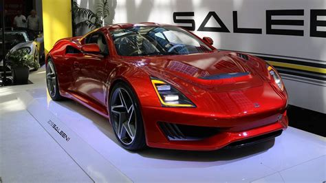 saleen     mph  carbon fiber supercar