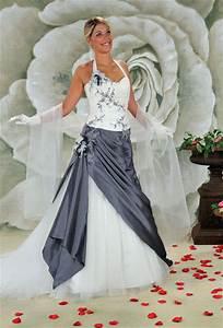 robe de mariee grise et ivoire d39occasion a vendre a With robe de mariée grise