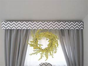 Custom Cornice Window Treatment Upholstered by ...