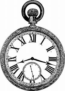 Clipart - old pocketwatch