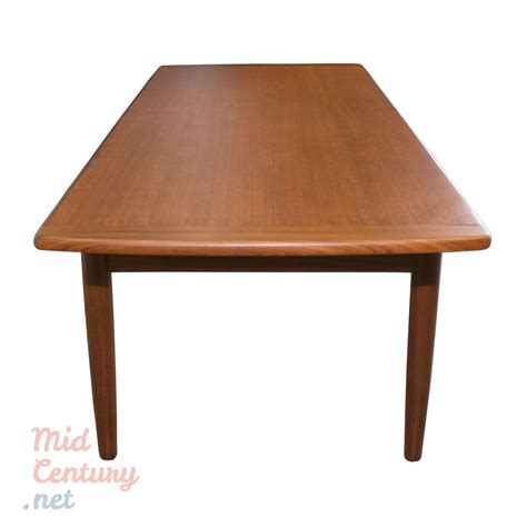 Danish Teak Coffee Table Made In The 1960s • Midcentury