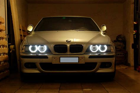 ampoule led angel eyes  bmw serie