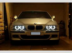 2 AMPOULE 10W + SUPPORT LED ANGEL EYES BMW SERIE 5 E39