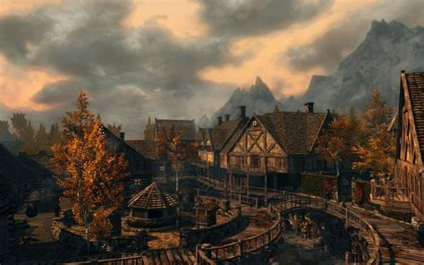 The Elder Scrolls V Skyrim Riften City Of Thieves