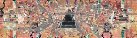 glitch dual monitors dual abstract triangle wallpaper no 433574 wallhaven cc