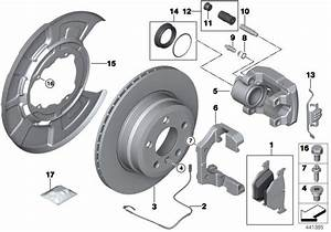 Bmw X5 Caliper Housing Right  Brake  Rear  Sensor