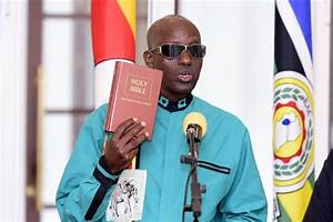Gen Elly Tumwine sworn-in as security minister