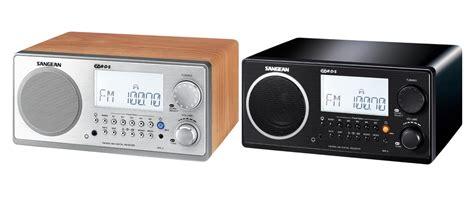 desk radio cd player sangean wr 2 alarm clock radio black the listening post