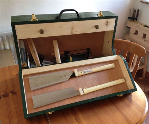 beginning woodworking part  fall front wooden toolbox