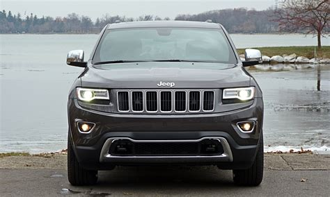 jeep grand cherokee  jeep grand cherokee limited front view