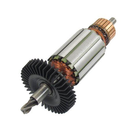 Electric Motor Rotor by Impact Drill Replacement 4 Teeth Electric Motor Rotor For
