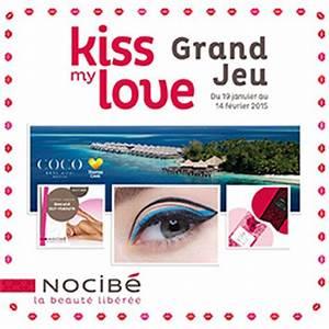 jeu nocibe kiss my love 651 cadeaux a gagner With plans de maison gratuit 19 les bons plans de la saint valentin e2
