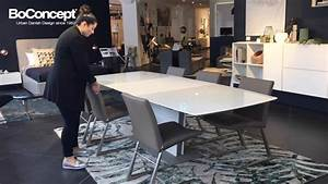 Table Bo Concept : designer dining table milano extendable dining table interior styling youtube ~ Melissatoandfro.com Idées de Décoration