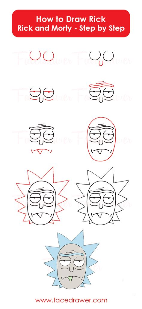 rick  rick  morty drawing lesson learn   draw