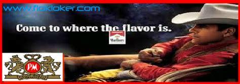 Pt hm sampoerna atau perpanjangan pt hanjaya mandala sampoerna adalah salah satu produsen terbesar rokok di indonesia, dan warga perusahaan di surabaya, jawa timur, menjadi kinerja produksi rokok di tingkat internasional. Lowongan Kerja PT Philip Morris Indonesia Kawasan MM2100 Bekasi