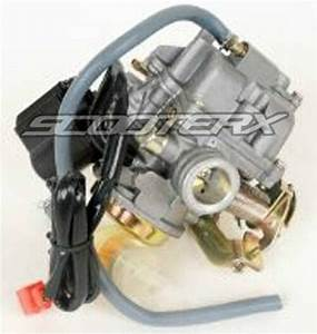 18mm Gy6 Carburetor Gas Mororcycle Moped Engine 49cc 50cc