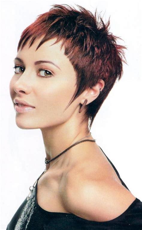 short cropped haircuts  women