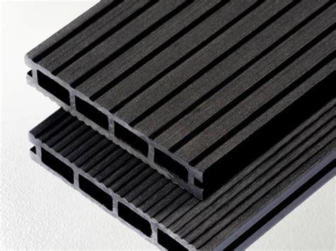 Terases kompozīt dēļi ART-1, Melns (4000mm) | plastikati.lv