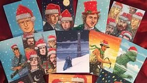 Fantastic New Geek Culture Christmas Card Art Features