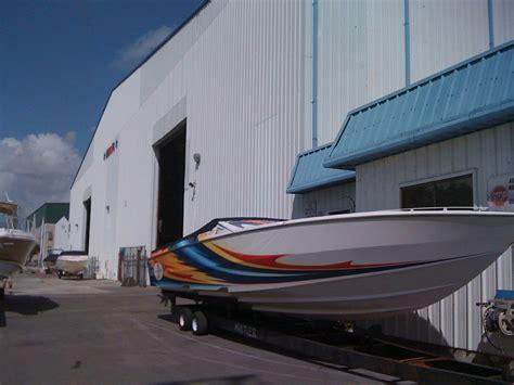 Miami Dry Boat Storage by Dry Rack Storage Thunderboat Marine Service Center