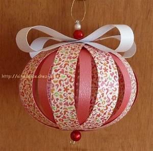 Origami Boule De Noel : boules en papier bricolage d co christmas ornaments ornaments et christmas ~ Farleysfitness.com Idées de Décoration