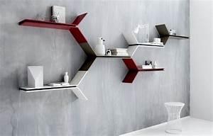 Support étagère Murale : etagere mural design ~ Teatrodelosmanantiales.com Idées de Décoration