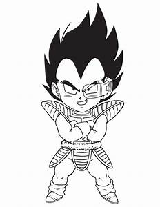 Vegeta Coloring Pages - Coloring Home