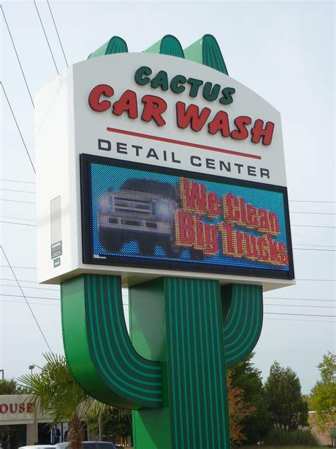 cactus car wash denyse signs