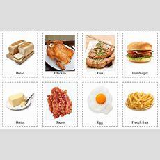 Еда на английском языке  Скачать карточки по теме Food