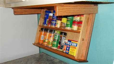 Wide Spice Rack by Spice Rack Drawer 18 Quot Wide Mounts Cabinet For Space