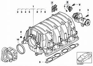 Original Parts For E67 745lis N62 Sedan    Engine   Intake