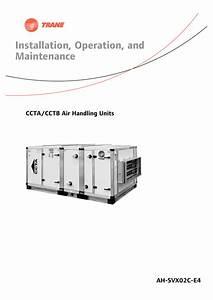 Ccta  Cctb Air Handling Units    Installation Operation