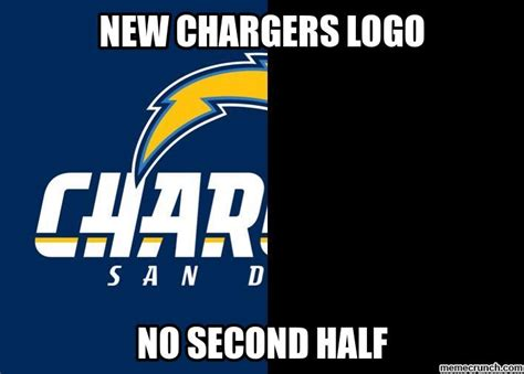 Chargers Memes - new chargers logo