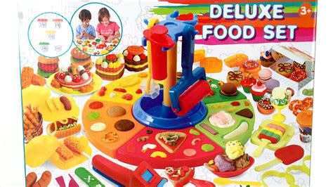 play doh cuisine deluxe food set cooking machine play doh food diy