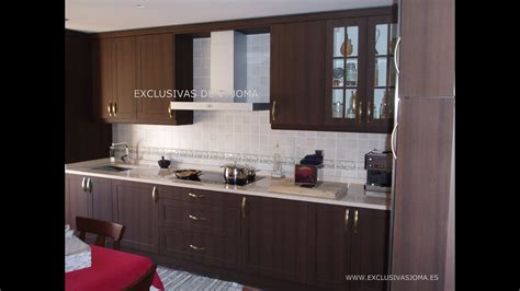 muebles de cocina en wengue  encimera de silestone youtube