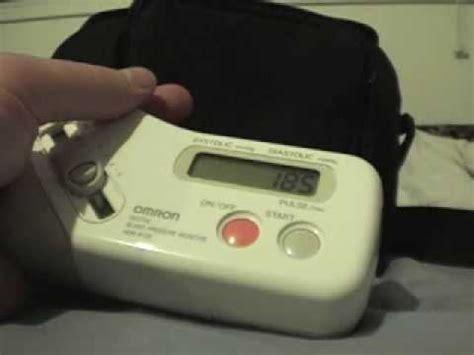 Omron HEM-815F Blood Pressure Monitor Uses Finger - YouTube
