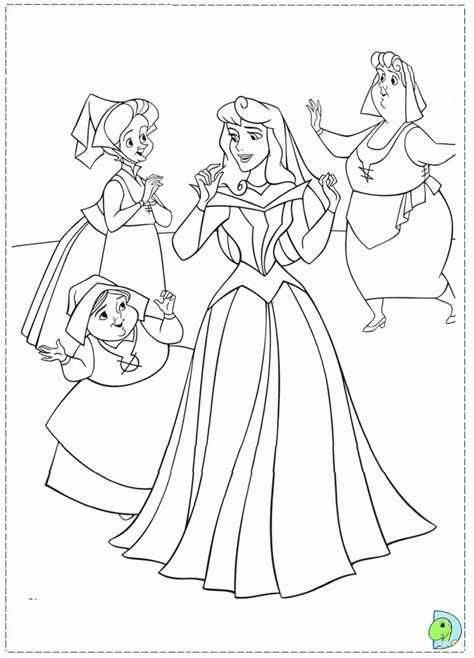 sleeping beauty coloring pages printable coloring home
