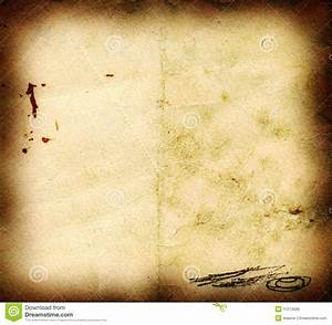 Burnt scratched old paper stock photo. Image of retro ...