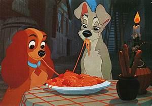 cartoon, cute, dogs, food, love, spaghetti - image #26089 ...