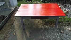 Table En Béton Ciré : table basse plateau en b ton cir tiroir effet m tal ~ Premium-room.com Idées de Décoration