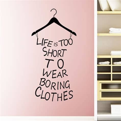 stiker closet quotes about shopping and clothes quotesgram