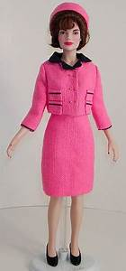 Jackie Kennedy in Pink Suit with Navy Trim   Flickr ...